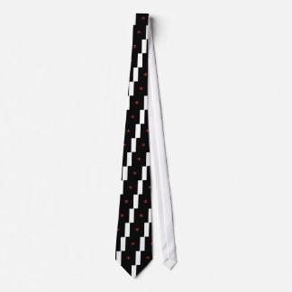 イリノイ州のための蝋燭のハートのデザイン ネクタイ