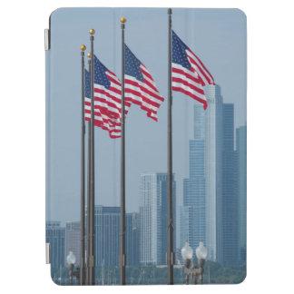 イリノイ、シカゴ。 海軍桟橋、米国は飛行に印を付けます iPad AIR カバー