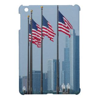 イリノイ、シカゴ。 海軍桟橋、米国は飛行に印を付けます iPad MINIケース
