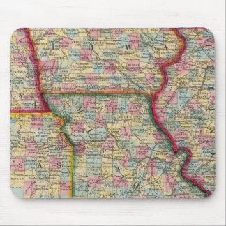 イリノイ、ミズーリ、アイオワ、ネブラスカおよびカンザス マウスパッド