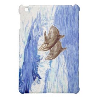 イルカと飾られるiPadの場合 iPad Miniカバー