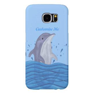 イルカのしぶき SAMSUNG GALAXY S6 ケース