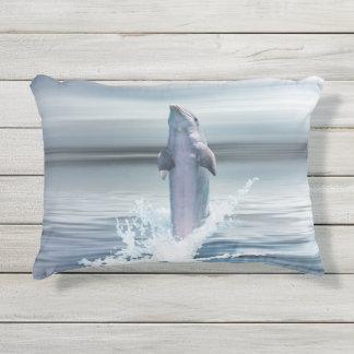 """イルカのカスタムな屋外のアクセントの枕16"""" x12 """" アウトドアクッション"""
