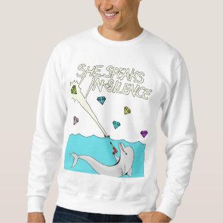 イルカのスエットシャツ スウェットシャツ