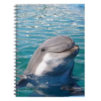 イルカのスマイル ノートブック
