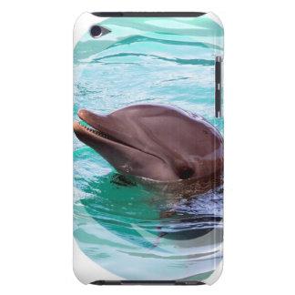 イルカのデザインのiTouchの場合 Case-Mate iPod Touch ケース