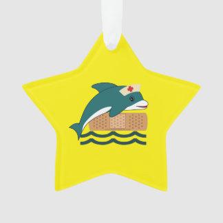 イルカのナース オーナメント