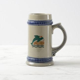 イルカのナース ビールジョッキ