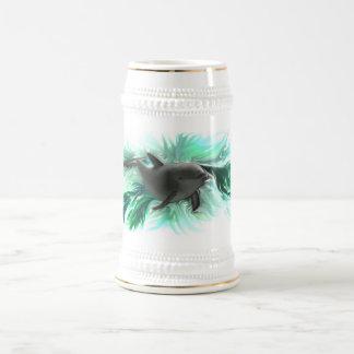 イルカのベビー ビールジョッキ