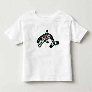 イルカのママ トドラーTシャツ