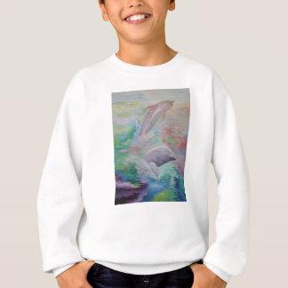 イルカのワイシャツ スウェットシャツ