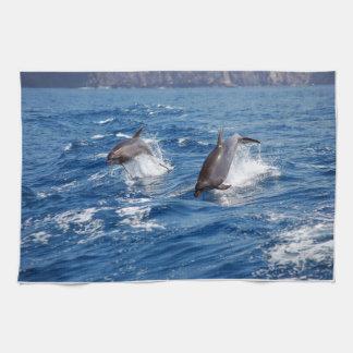イルカの冒険 キッチンタオル