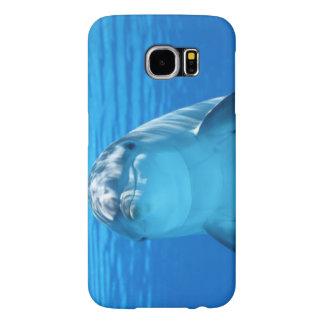 イルカの写真が付いているSamsungの銀河系S6の箱 Samsung Galaxy S6 ケース