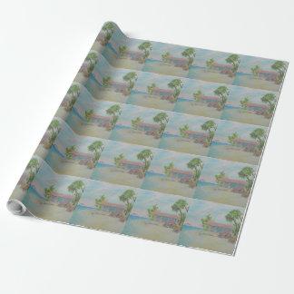 イルカの夢の包装紙 ラッピングペーパー