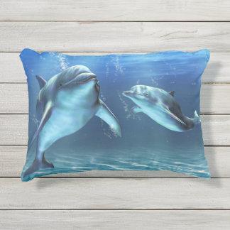 イルカの夢の屋外のアクセントの枕 アウトドアクッション