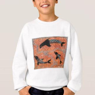 イルカの夢を見ること スウェットシャツ