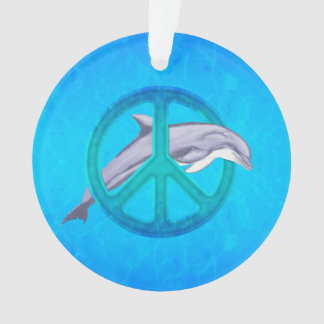 イルカの平和 オーナメント