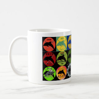 イルカの攻撃の分隊#10908のロゴのマグ コーヒーマグカップ