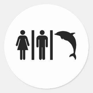 イルカの浴室 ラウンドシール