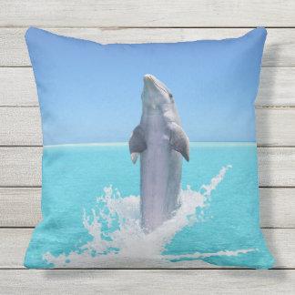 """イルカの海のアウトドアの装飾用クッション20"""" x 20"""" アウトドアクッション"""