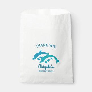 イルカの海洋生物の誕生会 フェイバーバッグ