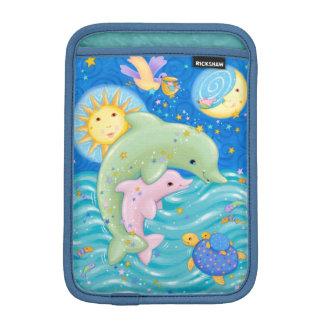 イルカの演劇 iPad MINIスリーブ