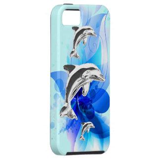 イルカの演劇 iPhone SE/5/5s ケース
