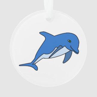 イルカの漫画 オーナメント