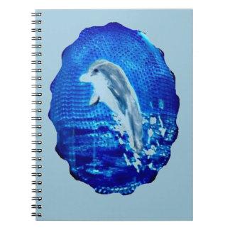イルカの芸術の跳躍 ノートブック