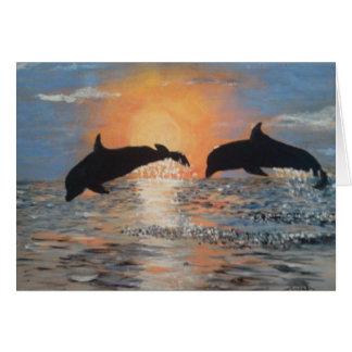 イルカの跳躍 カード