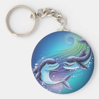 イルカの魔法Keychain キーホルダー