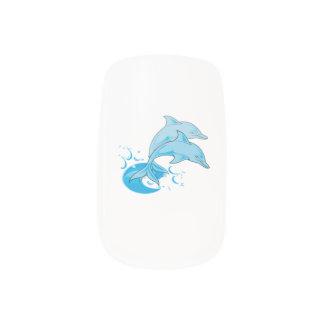 イルカのMINXのネイル ネイルアート