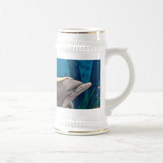 イルカを持つ人魚 ビールジョッキ