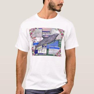 イルカを救って下さい! Tシャツ