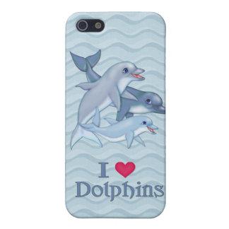 イルカ家族 iPhone 5 カバー