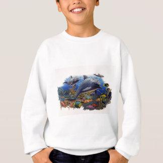 イルカ礁の水中競技 スウェットシャツ