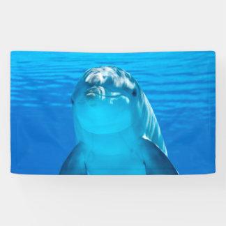 イルカ 横断幕
