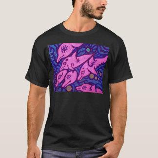 イルカ。.pink tシャツ