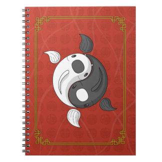 インおよびヤンコイのノート ノートブック