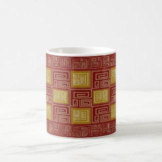 インカ人の織物の芸術 コーヒーマグカップ