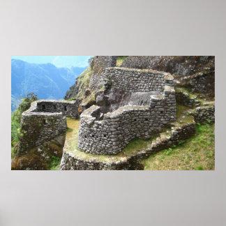 インカ人の道の台なし ポスター