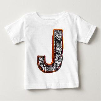 インカ人の` sのフォント、手紙J ベビーTシャツ