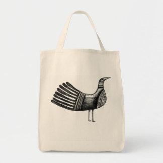 インクのようなquirkybirdの戦闘状況表示板 トートバッグ