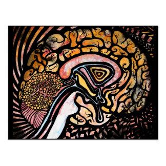 インク頭脳 ポストカード