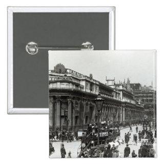 イングランド銀行は女王のために飾りました 5.1CM 正方形バッジ