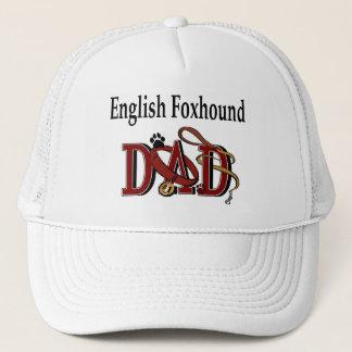 イングリッシュ・フォックスハウンドのパパの帽子 キャップ