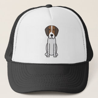 イングリッシュ・フォックスハウンド犬の漫画 キャップ