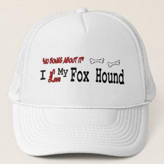 イングリッシュ・フォックスハウンド(I愛)の帽子 キャップ