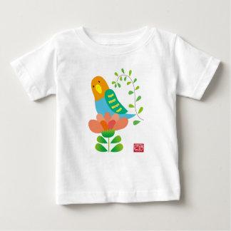 インコさん ベビーTシャツ