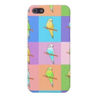 インコの虹の長方形 iPhone 5 CASE